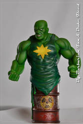 Radioactive-Man painted by BarbarianFanSculpt