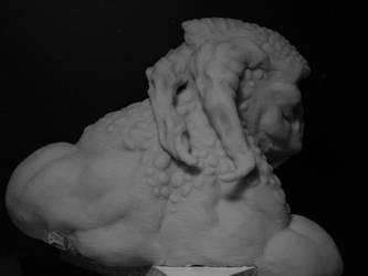 Fantasy Warrior (Back) by BarbarianFanSculpt