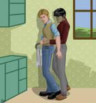 Kitchen Hug by Elikal