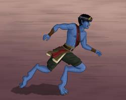 Akim running by Elikal