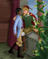 Romeo and Julius by Elikal