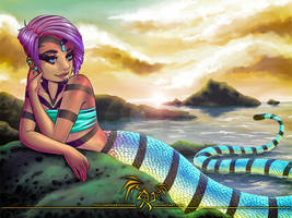 Masika the Sea Krait by hollowheartlessIzsak