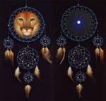 Cougar dreamcatcher by WolfsECHO
