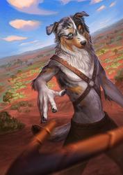 Aussie warrior by WolfsECHO