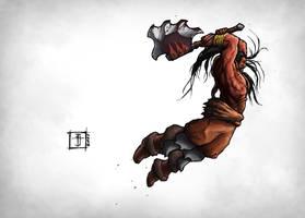 DOTA - Mogul Khan the Axe by Geoffrey-E