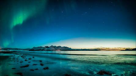 Fisheye Sunset by torivarn