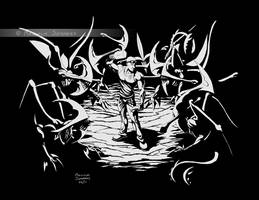 Riddick: Pitch Black by MalSemmensArt