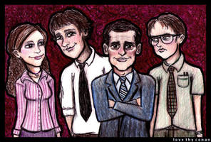 The Office by LoveTHYconan