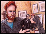 Conan Plays With Dolls by LoveTHYconan