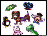 Toy Story Characters by LoveTHYconan