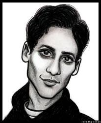 Danny Pudi by LoveTHYconan