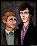 BBC Sherlock by LoveTHYconan