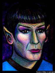 Mr. Spock by LoveTHYconan