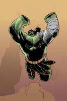 Clayton Henry WW Hulk WIP2 by The-3DArtist