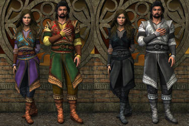 DS mats for Renaissance Tunic by Xurge 3D by NeilV