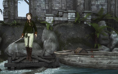Pirate Girl by NeilV