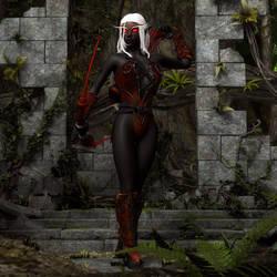 Dark Elf by NeilV