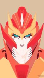 Rodimus Prime by Spearmark