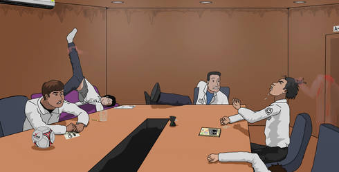 Ghost in A-37 Meeting room by dewery2539