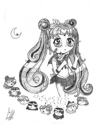 Sailor Moon. by CutieKittie999