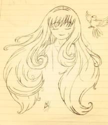 Bored in class by CutieKittie999