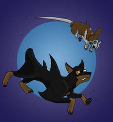 Dog Sharks? by JohnnyVe3