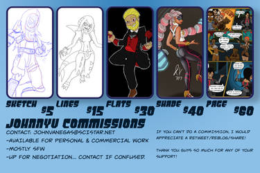 JohnnyV Commissions Available! by JohnnyVe3