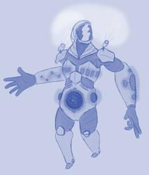 Alien Explorer Sketch Request by JohnnyVe3