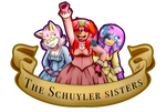 .:The Schuyler sisters:. by Kathy-the-echidna