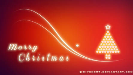 Merry Christmas Red HD Wallpaper by Givens87