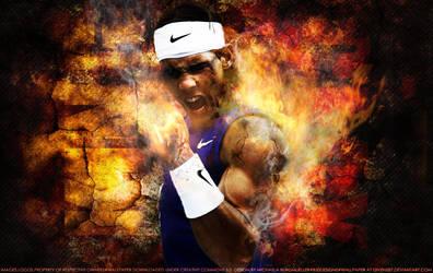 Rafael Nadal King of Clay 2 by Givens87