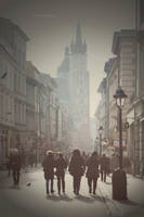 Florianska Street by dreamyana