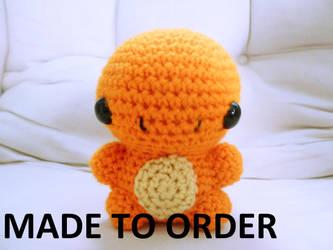 Charmander Amigurumi by The-love-of-Crochet