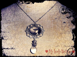 Tears Necklace by TheLovelyBoutique