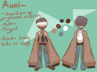Auni Character Page by ALonelyFinn