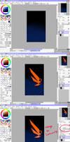 tutorial : wing by SwordwaltzWORKS