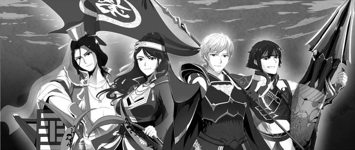 Comm : Shin Sangoku Musou Officers by SwordwaltzWORKS