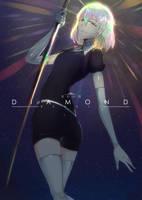 Houseki no Kuni : Diamond by SwordwaltzWORKS