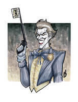 The Clown Prince of Crime by BigChrisGallery