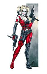 Harley of Arkham by BigChrisGallery