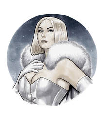 The White Queen of Hellfire by BigChrisGallery