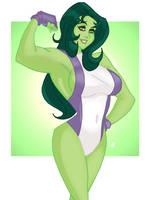 She Hulk by BigChrisGallery