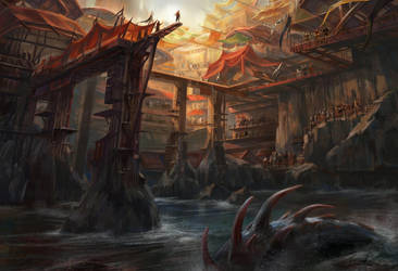 Ocean Arena by lafemmedart218