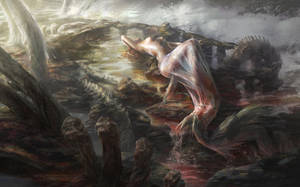 The Little Mermaid by lafemmedart218