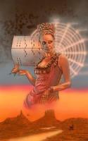 Maeve of WestWorld  by saintworksart