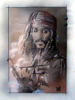 Jack Sparrow by saintworksart