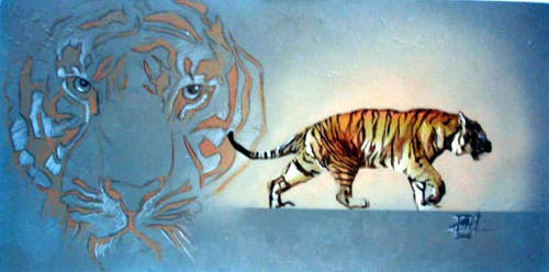 Tiger,tiger by saintworksart