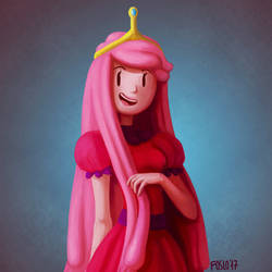 Princess Bubblegum by Foslo