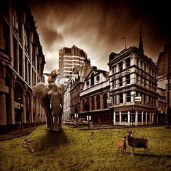 Elephant in da town by doeufman