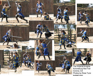 Knight Swordfight Stock Pack 2 by tursiart